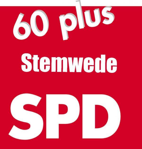 Im SPD Gemeindeverband Stemwede besteht die Arbeitsgemeinschaft 60 plus Hier sind die Senioren seit 1996 aktiv Die Arbeitsgemeinschaft SPD 60 plus versteht sich als Zielgruppenorganisation der SPD, die insbesondere inhaltliche Impulse für die Partei geben und zugleich Vermittlerin zu den Älteren in Organisationen, Verbänden und Institutionen sein will. 1994 gegründet, ist sie die jüngste unter den großen Zielgruppenorganisationen in der Partei, zählt aber zu den aktivsten. Im Jahr 1996 fand in Stemwede unter Leitung des Gemeindeverbands die Gründungsversammlung der Stemweder AG 60 plus statt, hier wurde auch der erste Vorstand der AG gewählt. Er nahm unter Leitung von Günter Bohne seine Arbeit auf .