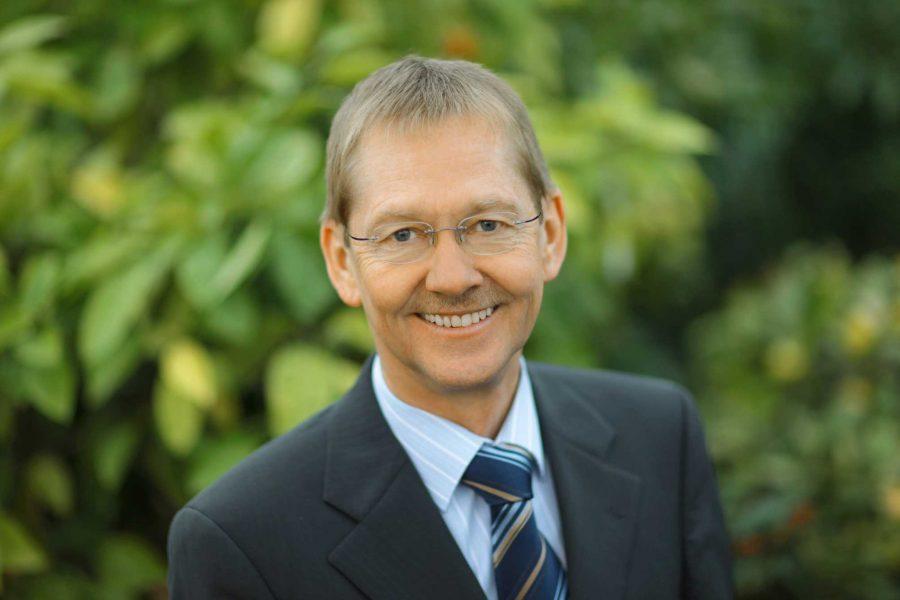 Hier der Bürgermeisterkandidat der SPD: Wilhelm Riesmeier